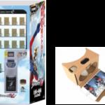 日本初!ハコスコ×ウルトラマンゼロ VR『ハウステンボスにVR自動販売機設置』