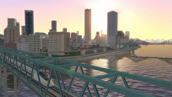 A列車で行こうExp. ゲーム画面