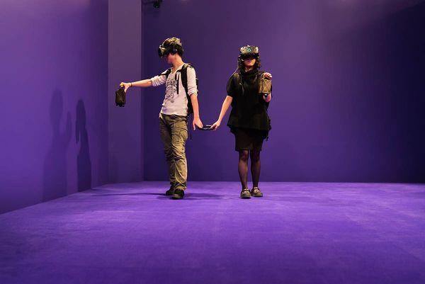 Magic-Reality: Corridor体験イメージ