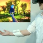 H2LとNTTが、VRやARに自然な触覚共有体験を与えるインタフェースを開発