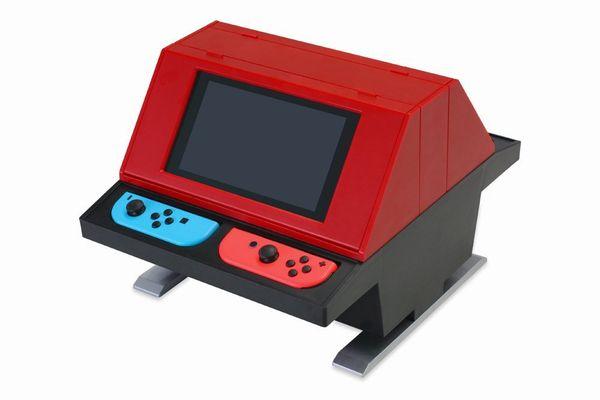 Switch用、対面型アーケードスタンド