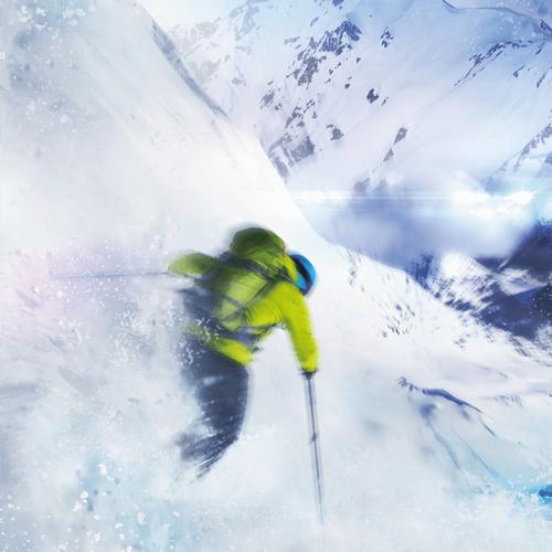急滑降体感機「スキーロデオ」