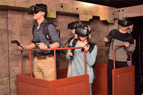 アトラクション型VR体験イメージ