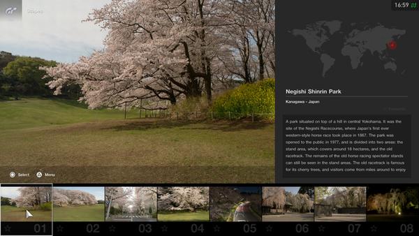桜をテーマにした「スケープス」