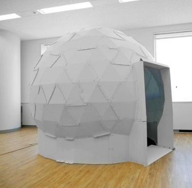 ドーム型VRスペース