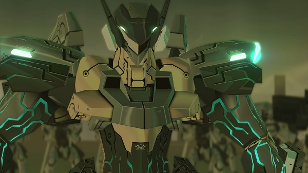 ANUBIS ZONE OF THE ENDERS : M∀RS TRIAL EDITION