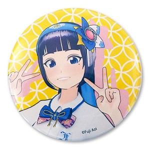 富士葵 葵のピースサイン缶バッチ