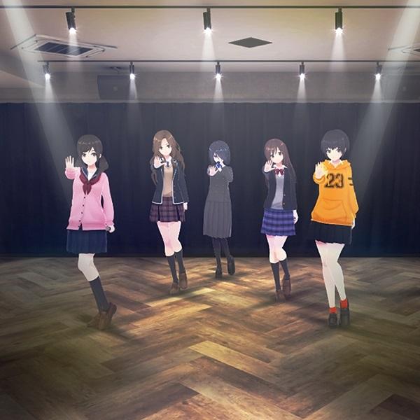 VRアイドルユニット「えのぐ」の5人
