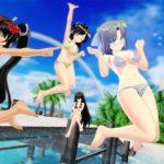 【PSVR】美少女達がずぶ濡れで飛び回る『閃乱カグラPEACH BEACH SPLASH SUNSHINE EDITION』配信開始!記念して全ムービ紹介