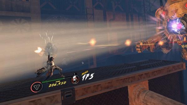 『GUNGRAVE VR U.N』ゲームプレイ画面イメージ