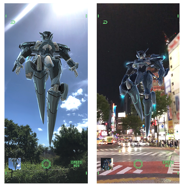 ANUBIS ZONE OF THE ENDERS : M∀RS 渋谷上空ARバトル