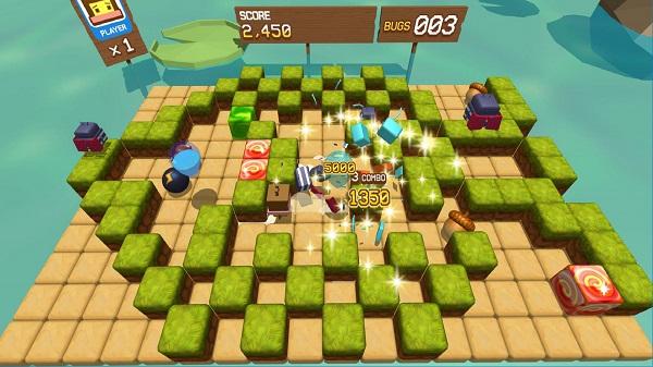『BugsBoxVR』ゲーム画面イメージ