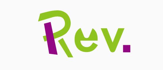 ゲーマーVtuber集団『Rev.』ロゴ