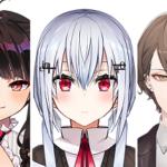VTuber事務所「にじさんじ」より新たに男女3名のメンバーが活動開始!マジシャンから社長まで!
