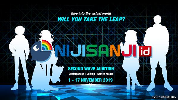 「NIJISANJI id」オーディション第2弾開催